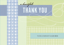 Retro Regards Thank You Cards